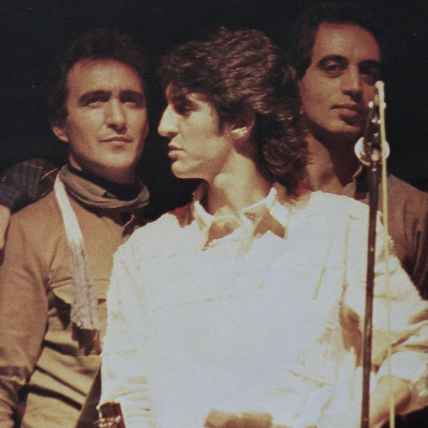 Basilio Montes con Ramoncin